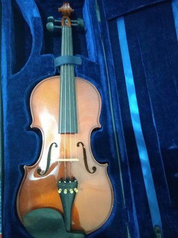 Violino 4/4 novo Shelter Symphonic - Foto 4