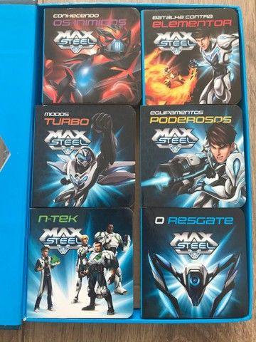 Max Steel coleção 6 livros  - Foto 3