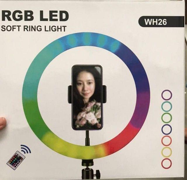 Ring light colorida de 12' polegada  - Foto 3