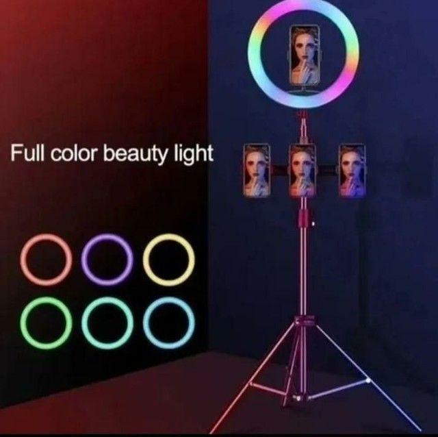 Ring light colorida de 12' polegada  - Foto 2