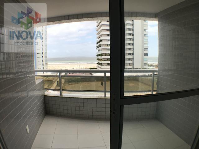Apartamento na Peninsula  vista mar  vaga coberta  varanda