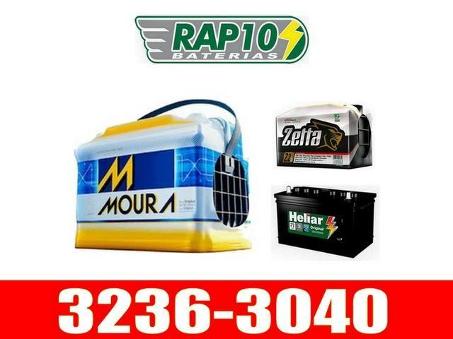 Baterias de caminhão carreta Moura