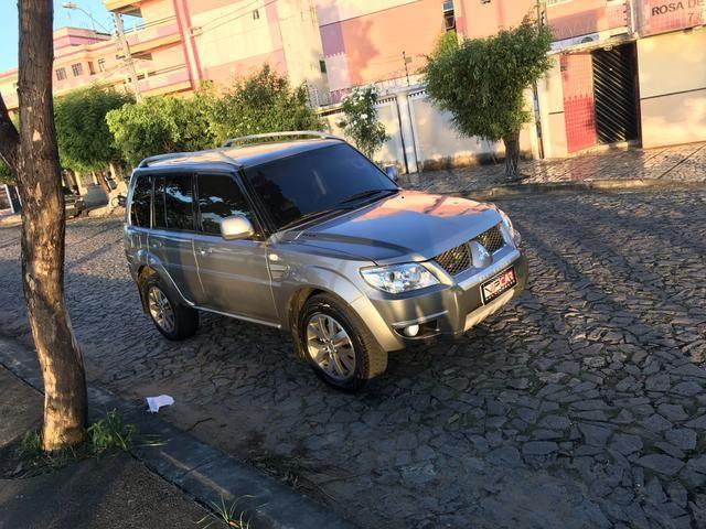 Pajero TR4 2012 4x4 automática Blindada Nível IIIA - Foto 3