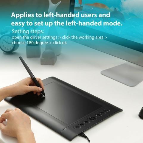Huion H610 Pro V2 - Tablet Gráfico Profissional - Foto 5