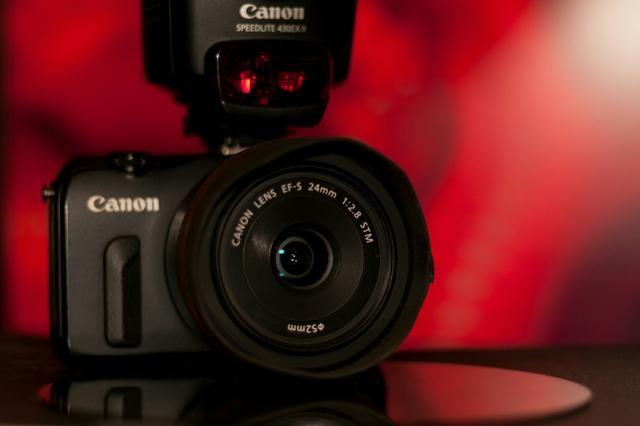 Canon Mirrorless + lente 24mm 2.8
