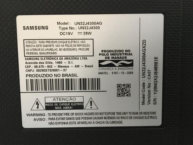 Tv Samsung smart 32 polegadas PEÇAS - Foto 2