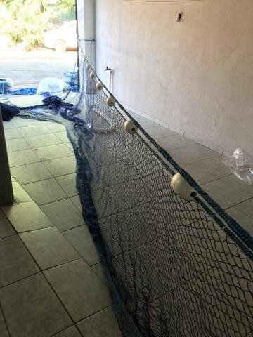 Redes para Piscicutura despesca arrasto - Foto 5