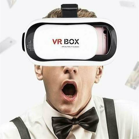 Oculos 3d Rift Realidade Virtual Cardboard Vr Box + Controle - Foto 4