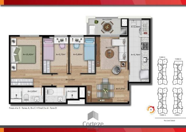 Apartamento Garden 2 Quartos com 2 vagas de garage - Foto 15