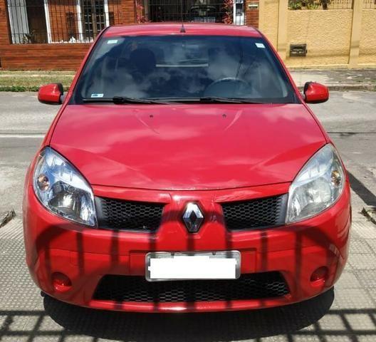 Renault/Sandero Exp1.0 16v 4P, Ano: 2011, Flex: Gas/Alc, cor: Vermelha - Foto 2