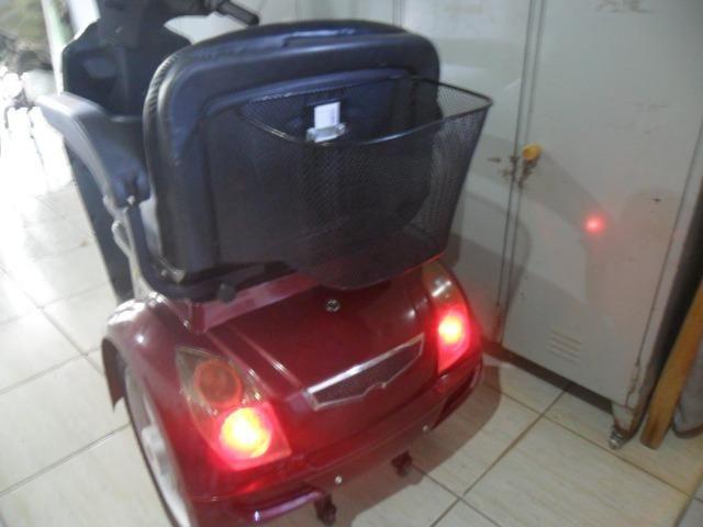 Triciclo Motorizado Óptimo para Pessoas com Dificuldade de Locomoção - Foto 5