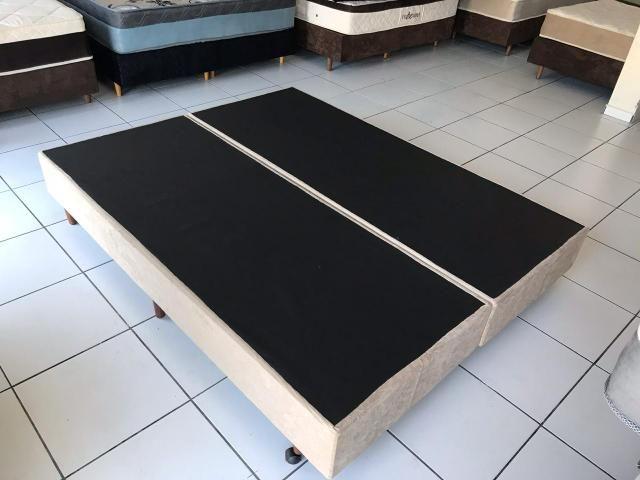 Base box Queen SIZE 1,98 x 1,58 m - ENTREGA IMEDIATA!