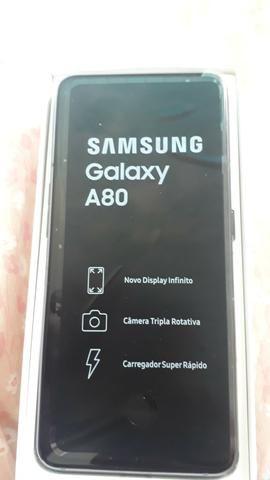 Samsung A 80 zero garantia de 1 ano sem uso - Foto 2