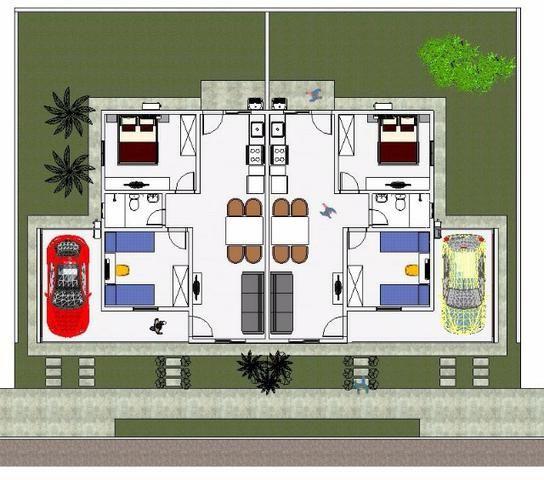 Casa Nova 2/4 Pronta p/ Morar no Condomínio Parque Humaitá - Foto 2