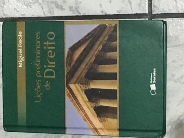 Livro Lições Preliminares De Direito- Miguel Reale (saraiva)