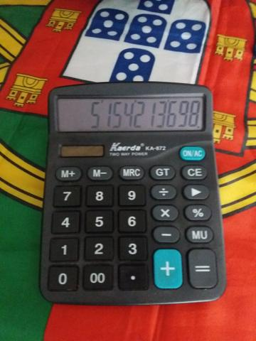 Vendo esta maravilhosa calculadora