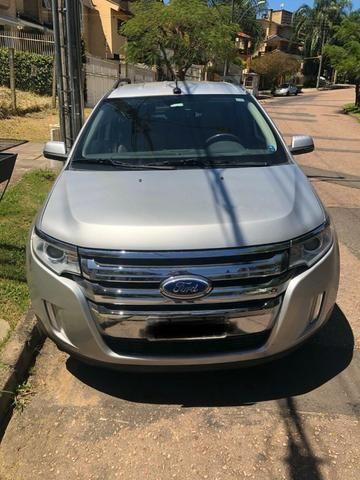 Ford Edge Limited com baixa quilometragem e top de linha - Foto 5