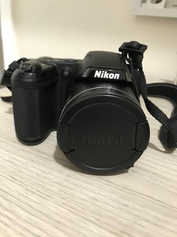 Vendo câmera Nikon Coolpix L330