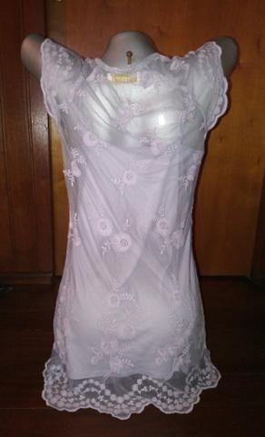 Vestido curto renda - Foto 2