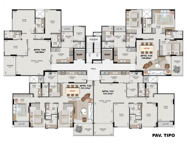 Apartamento à venda com 4 dormitórios em Ponta verde, Maceió cod:AP00001 - Foto 20