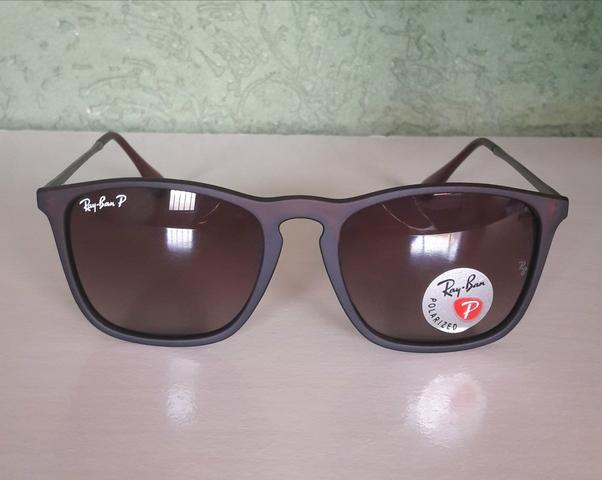 562d7bb01f135 Óculos Ray Ban Chris RB4187 Polarizado Original Importado ...