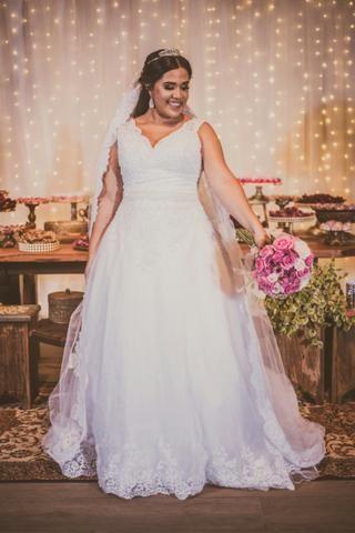 232620bed Vestido de noiva.1500 aluguel e 2000 venda - Roupas e calçados ...