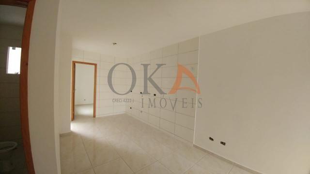 Casa 42m² 02 dormitórios no campo de santana é na oka imóveis - Foto 8