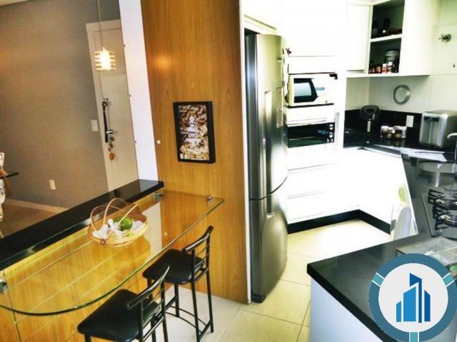 Apartamento para Venda, 03 dormitórios c/ suíte, 2 salas, 2 vagas, 120,87 m² privativos, B - Foto 5