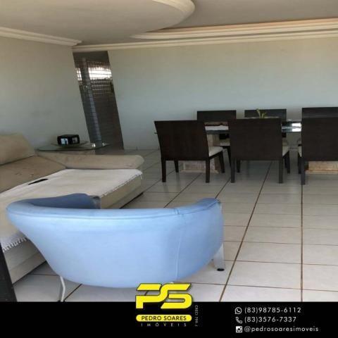 Apartamento com 3 dormitórios à venda, 147 m² por R$ 440.000 - Intermares - Cabedelo/PB - Foto 4