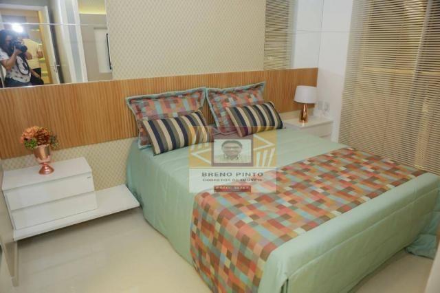 Apartamento no Serenitá Cócó com 3 dormitórios à venda, 98 m² por R$ 799.900 - Cocó - Fort - Foto 18