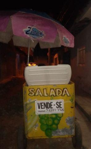 Vendo carrinho de salada - Foto 2