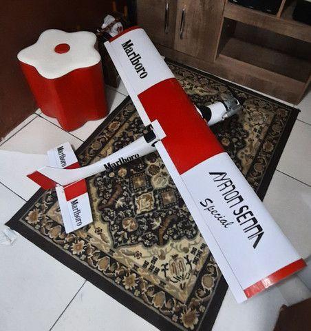 Aeromodelo muleke kit sem radio e reptor  - Foto 2