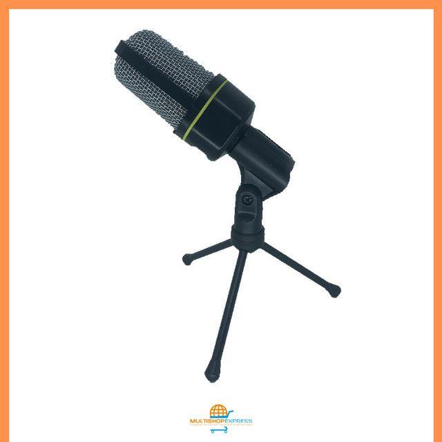Microfone Condensador Gravação Studio Lives Vídeos