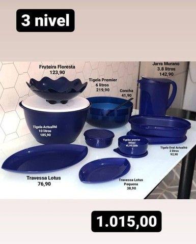 Jogo fantástico tupperware 10 peças  - Foto 5