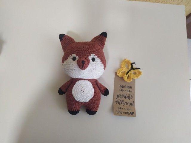 Raposinha em crochê (Amigurumi)