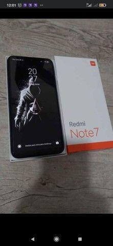 Redmin note 7 na caixa