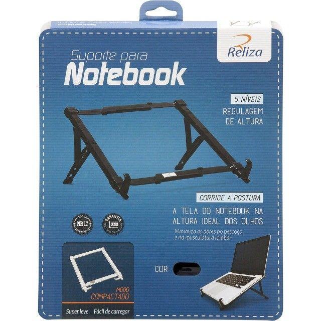 Suporte Ergonômico Regulável para Notebook Reliza Novo - Foto 5