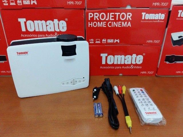 Projetor De Led Tomate Cinema 800 Lumens Original Mpr-7007                          - Foto 5