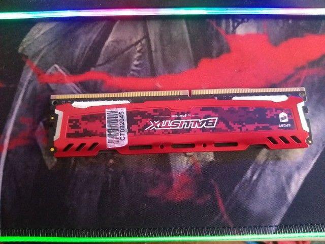 Memória RAM ddr4 4gb crucial ballistix - Foto 2