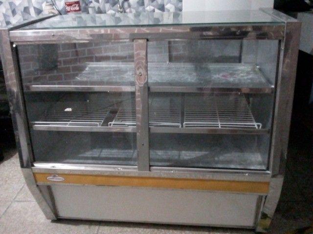 Balcão duas portas expositor refrigerado 220v - Foto 3