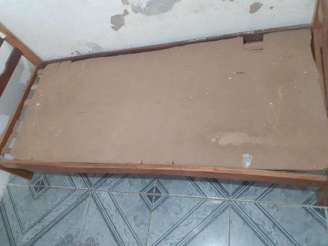 Cama de solteiro madeira - Foto 3