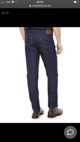 Calça jeans masculina Crawford Tam 40 - Foto 2