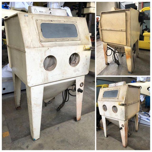 Máquina de Jateamento Polo Ar