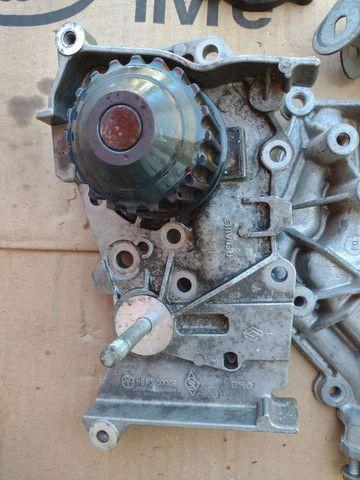 Bomba d'água carcaça do sensor aquecimento Renault Megane gran Tour 1.6 16v - Foto 5