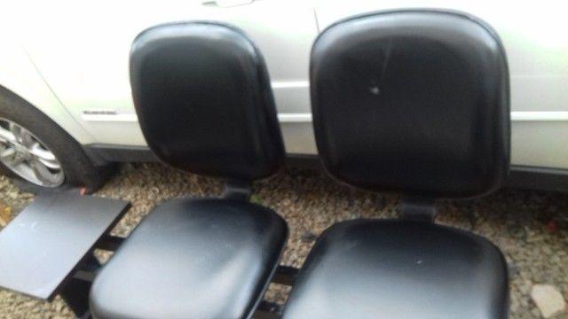 Cadeiras de recepção