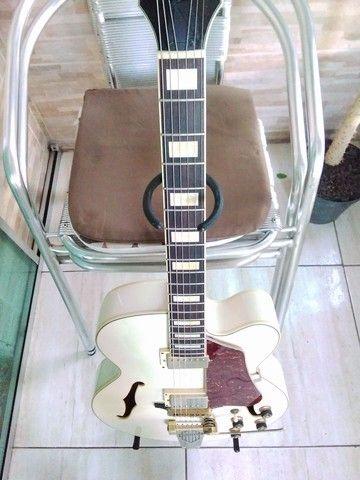 Guitarra Semiacústica Ibanez AF-75 TDG[seminova(regulada)] - Foto 6