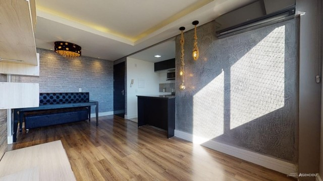 Apartamento Mobiliado com 59 m² de 2 dormitórios no Jardim Carvalho - Foto 8