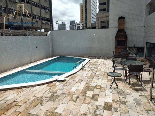 Excelente Apartamento com 4 dormitórios à venda, 94 m² por R$ 600.000 - Boa Viagem - Recif - Foto 2