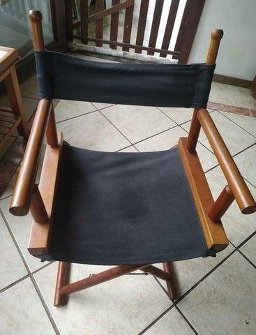 Cadeira de Diretor de Cinema R$ 180,00