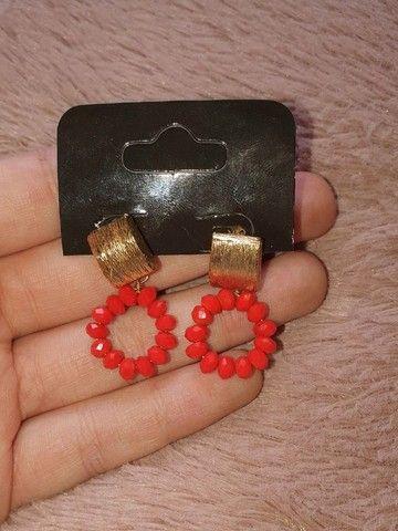 brinco vermelho | biju